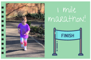 Idha's One Mile Marathon for Alice House