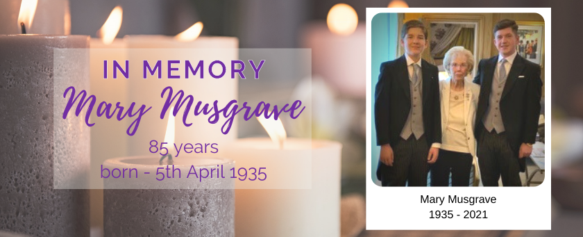 Mary Musgrave, 1935-2021